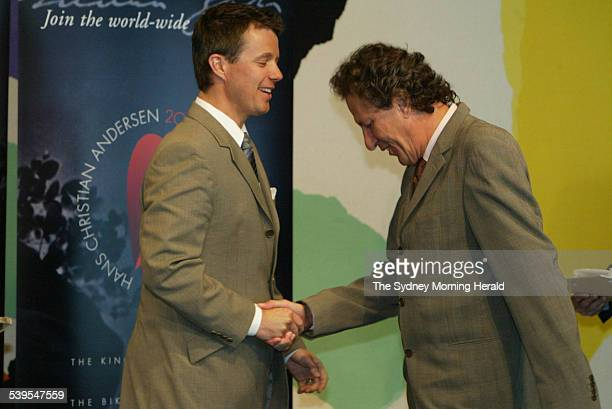 Appointment of the Hans Christian Andersen 2005 Ambassadors at the Utzon Room at the Sydney Opera House on 7 March 2005 HRH Crown Prince Frederik at...