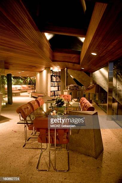 Appointment with James Goldstein who made his fortune in property and who owns the house most of California deemed serving decor for movies music...