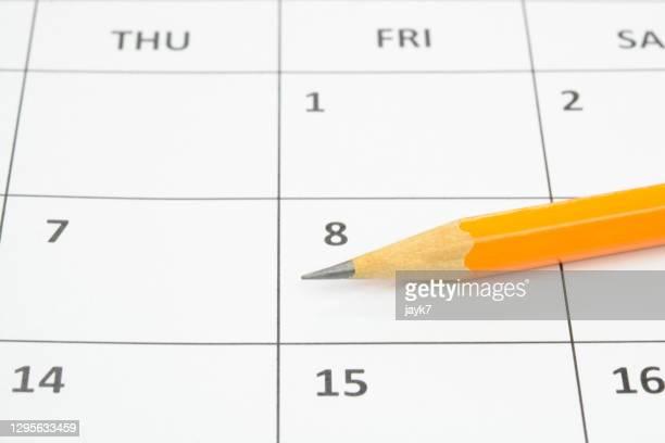 appointments - 暦月 ストックフォトと画像