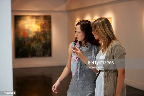 appreciating art - museum stock photos and pictures