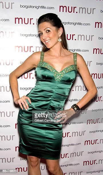 Apprentice 3 contestant Erin Elmore at murmur Nightclub at the Borgata Hotel on June 13 2009 in Atlantic City New Jersey