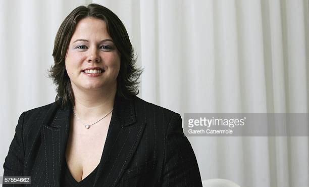 Apprentice finalist Ruth Badger poses for photos on May 8 2006 in London England