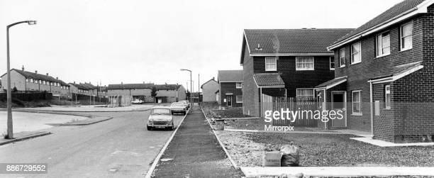 Apprentice' houses on the Gurnos Estate Merthyr The houses cost ú20000 a piece twice the normal price for a new council dwelling 25th June 1979