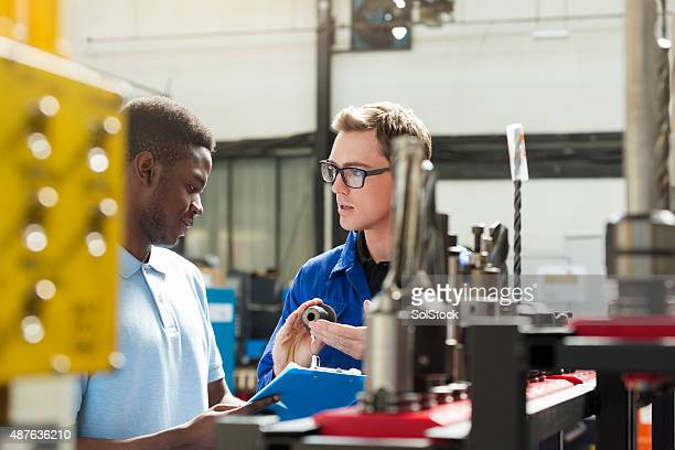 Apprentice Machinist Learning from Professional