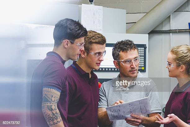 Apprentices in Engineering