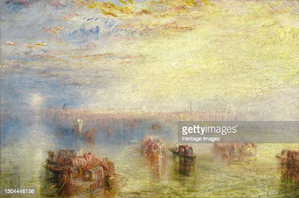 Approach to Venice, 1844. Artist JMW Turner.
