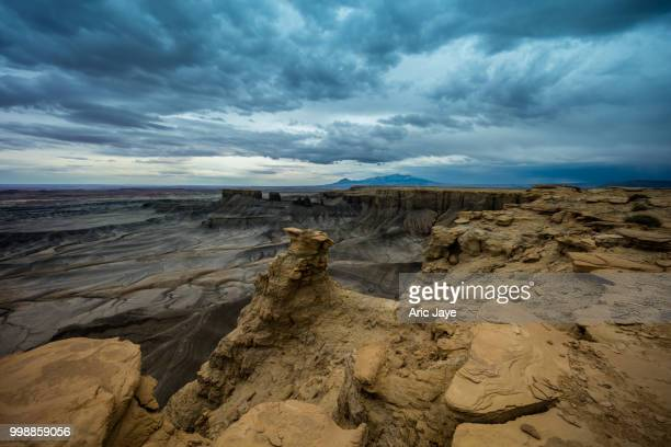 Approaching Storm at Moonscape