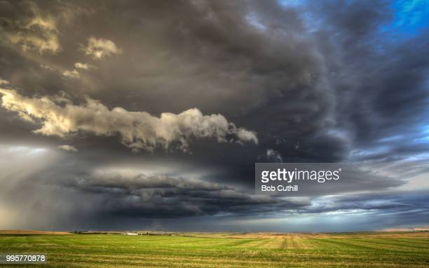 approaching storm - hill stock pictures, royalty-free photos & images