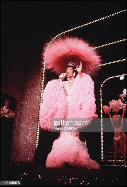 75017 33 1 48 07 52 00 Approval required for IS Watsa 38 rue de la Condamine Josephine Baker at Lido in Paris France in December 1973