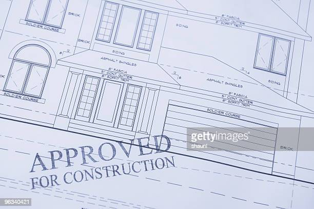 approved for construction - permission concept stock pictures, royalty-free photos & images