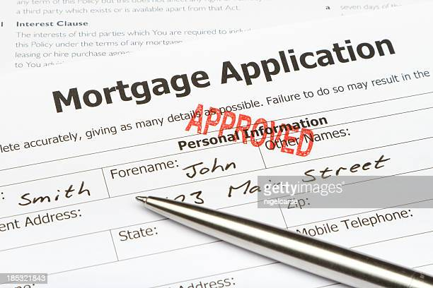 Approuvé Mortgage Application