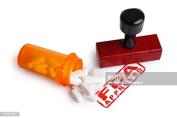 fda approved stamp - fda stock photos and pictures