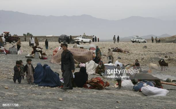 Approximately 9000 families fled from DaeshTaliban conflict shelter at a safe zone as security forces take measures in Hogyani district of Nangarhar...