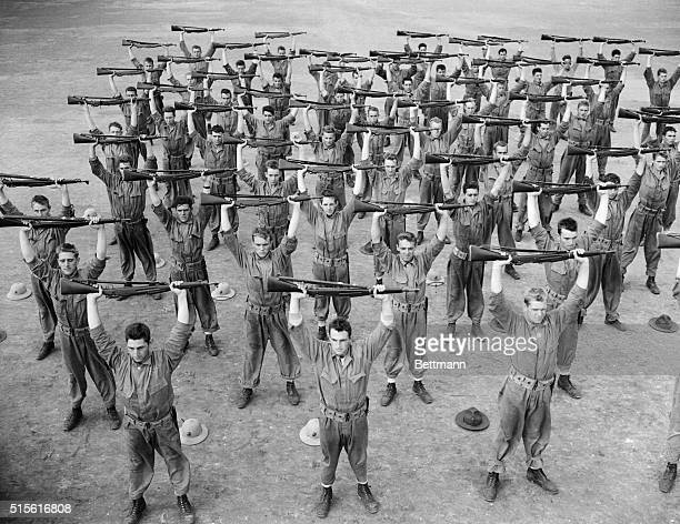 Approximately three of the seven weeks training course of the US Marine recruits at Parris Island are spent on the rifle range where the future...