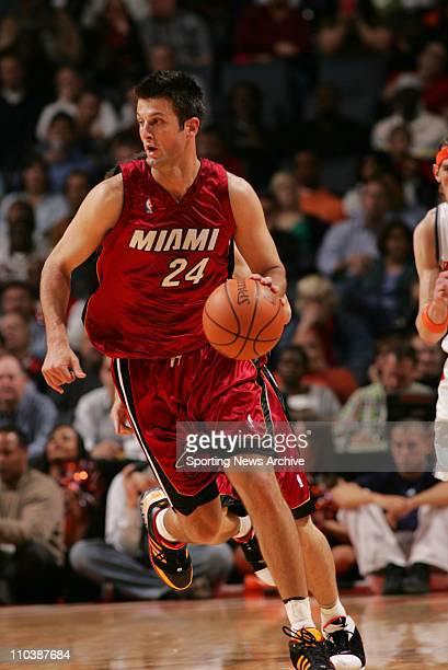 Apr 10 2007 Charlotte NC USA The Miami Heat JASON KAPONO against the Charlotte Bobcats at the Charlotte Bobcats Arena The Bobcats won 9282