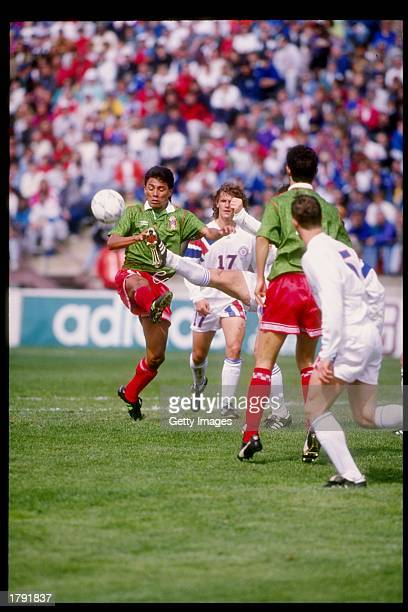 General view of the action during a game between the United States and Mexico at Lehigh University in Bethlehem Pennsylvania Mandatory Credit Jeff...