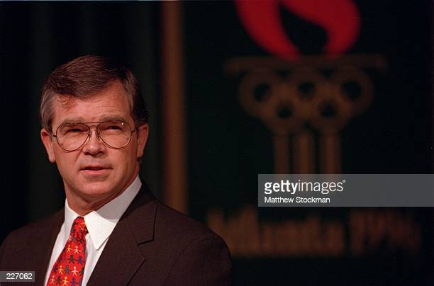 Billy Payne the CEO for the Atlanta Committee for the Olympic Games during the 100 Days press conference in Atlanta Georgia Mandatory Credit Matthew...