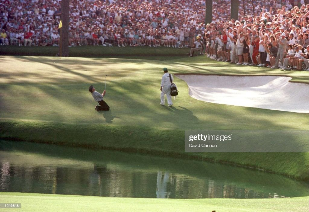 Masters Norman 15th : News Photo