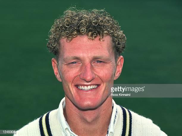 Portrait of Dougie Brown of Warwickshire County Cricket Club Mandatory Credit Ross Kinnaird/ALLSPORT