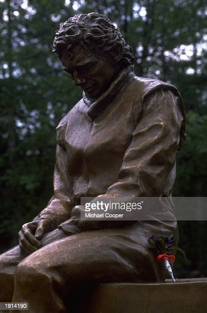 A monument to the late formula one driver Ayrton Senna who died in 1994 during the San Marino Grand Prix in Imola Mandatory Credit Mike Cooper...