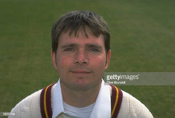 A portrait of David Ripley of Northamptonshire County Cricket Club at the County Ground in Northampton England Mandatory Credit Clive Brunskill...