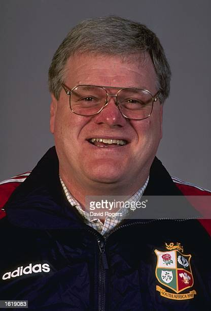 A portrait of Fran Cotton the British Lions Manager on the tour to South Africa Mandatory Credit David Rogers /Allsport