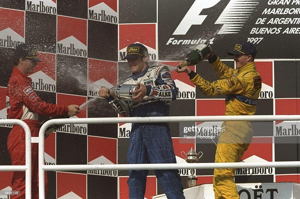 Jacques Villeneuve : News Photo