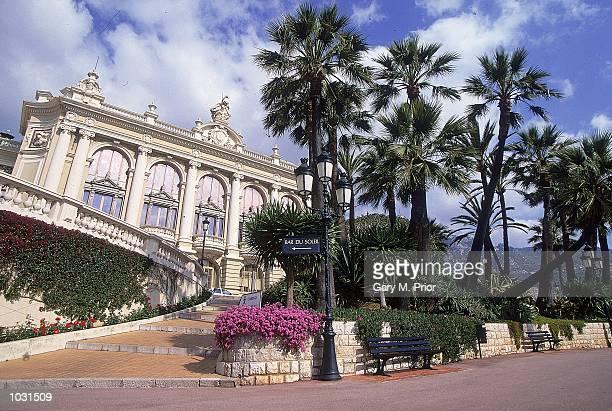 General view of a casino in Monte Carlo during the Monte Carlo Open in Monaco Mandatory Credit Gary M Prior/Allsport