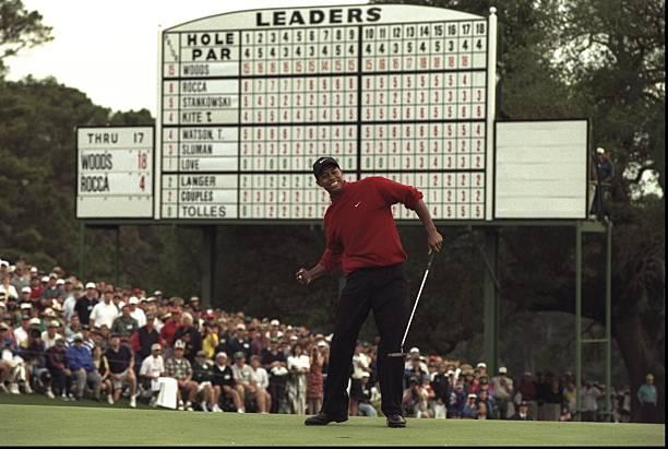 Tiger Woods...