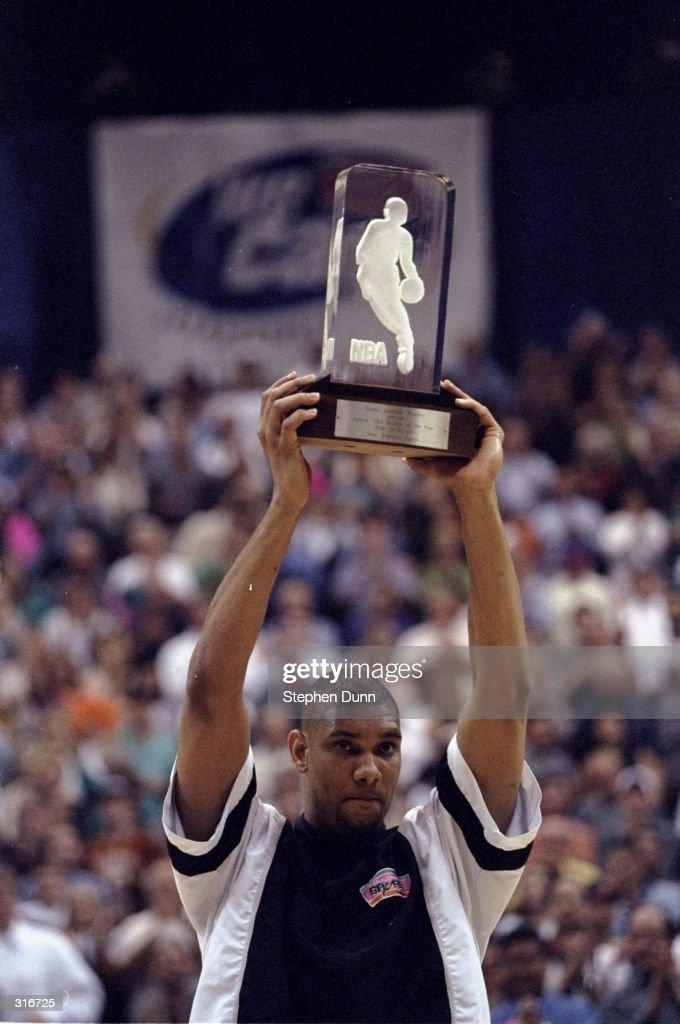 Tim Duncan Rookie Year