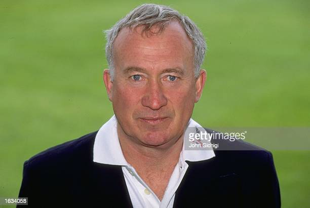 Portrait of Keith Fletcher of Essex CCC at the County Ground in Chelmsford, England. \ Mandatory Credit: John Gichigi /Allsport