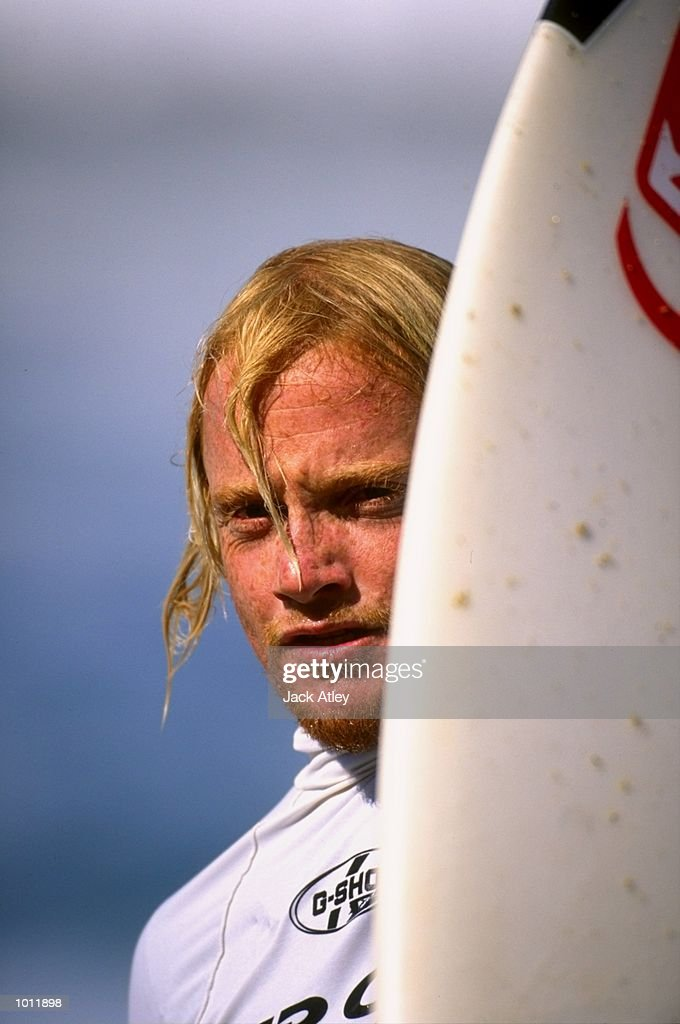 Michael Campbell of Australia in action during the 1999 Rip Curl Pro Surfing Championships from Bells Beach, Victoria, Australia. \ Mandatory Credit: Jack Atley /Allsport