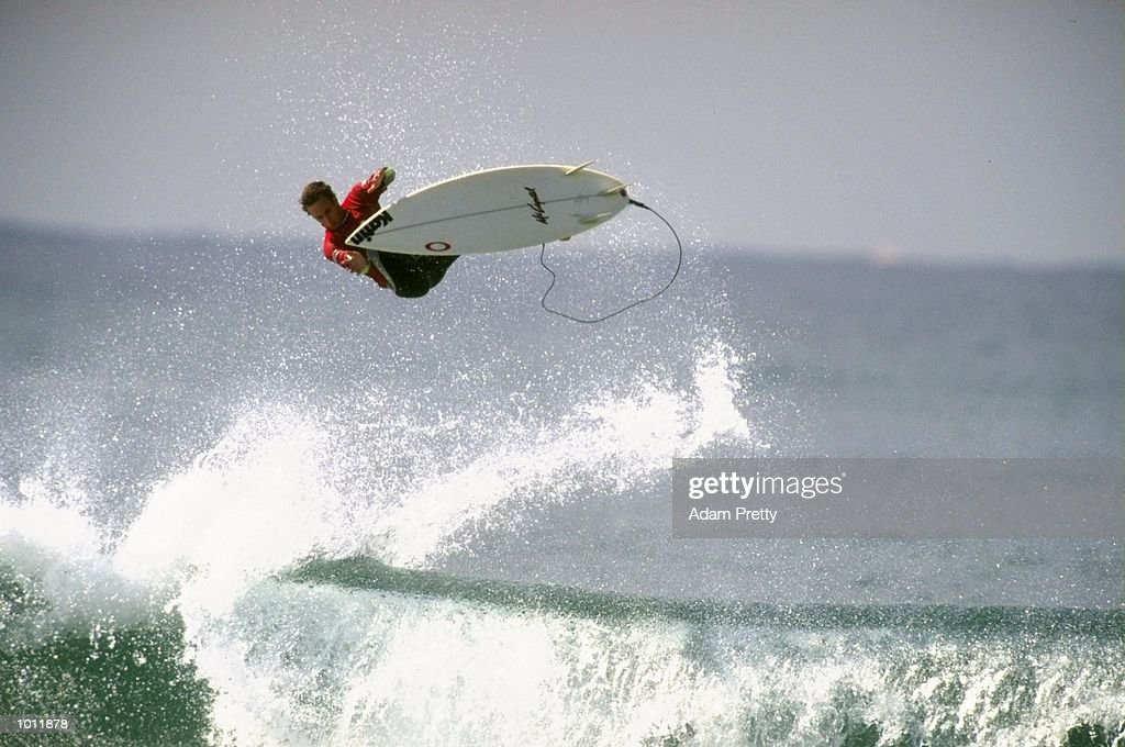 Tim Curran of the USA in action during the 1999 Coca-Cola Classic Surfing Championship at Manly Beach, Sydney, Australia. \ Mandatory Credit: Adam Pretty /Allsport