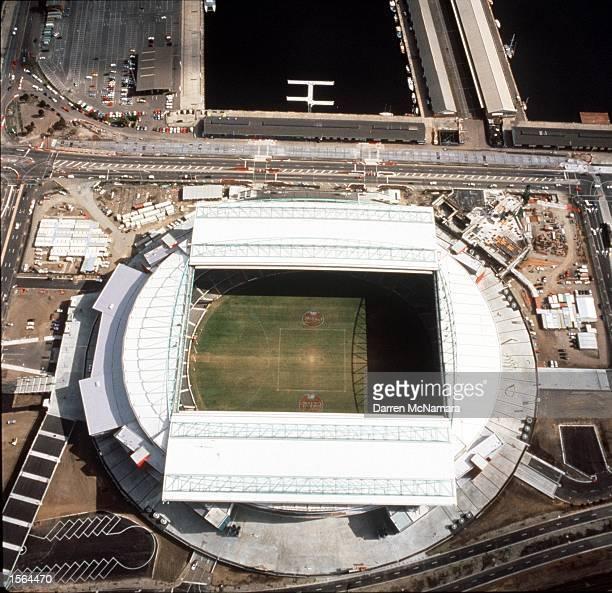 Aerial view of the Colonial Stadium in Melbourne Australia Mandatory Credit Darren McNamara/ALLSPORT
