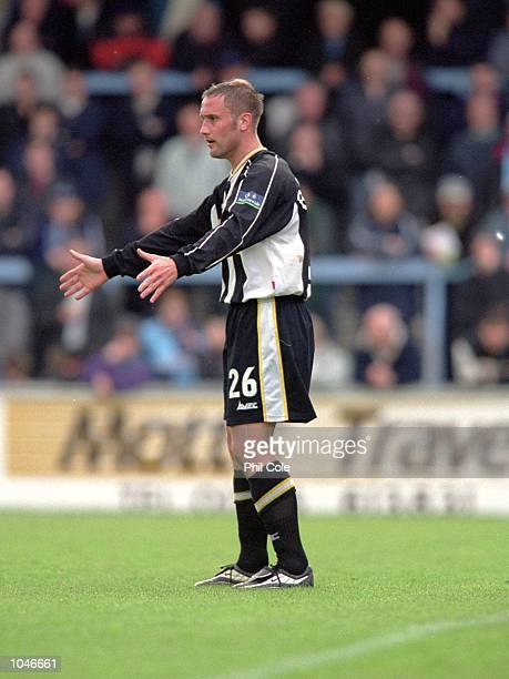 Craig Ramage of Notts County during the Nationwide League Division Two game between Wycombe Wanderers and Notts County at Adams Park in Wycombe...