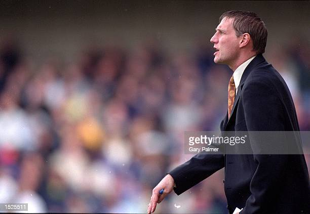 Joint Millwall manager Alan McLeary during the Nationwide League Division Two match against Gillingham at the New Den in London The match was drawn...