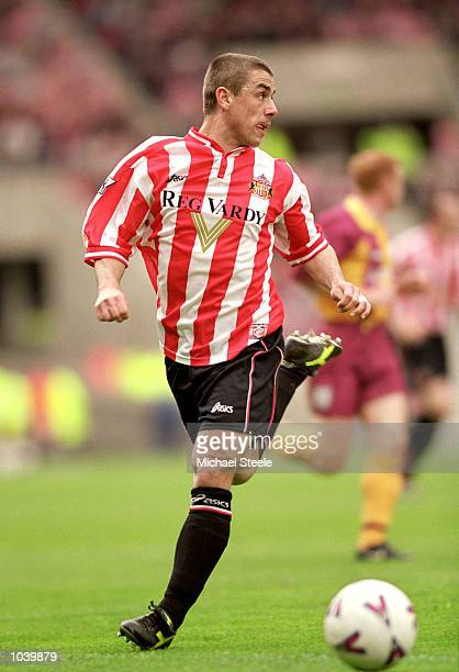 Kevin Phillips of Sunderland in action during the FA Carling Premiership match against Bradford City at the Stadium of Light in Sunderland England...