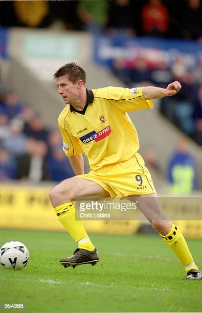 Alan Lee of Rotherham United in action during the Nationwide League Division Two match against Millwall played at The New Den, in London. Millwall...