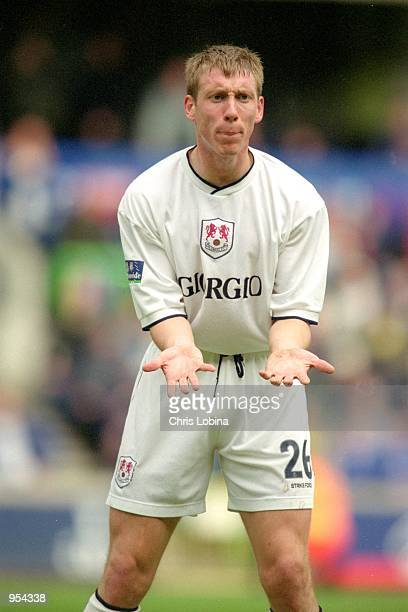 David Livermore of Millwall in action during the Nationwide League Division Two match against Rotherham United played at The New Den, in London....