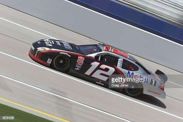 Jeremy Mayfield during practice for the NASCAR Winston Cup Talladega 500 at the Talladega Super Speedway Talladega Alabama <<Digital Image>>...