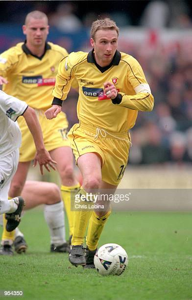 Kevin Watson of Rotherham United in action during the Nationwide League Division Two match against Millwall played at The New Den, in London....