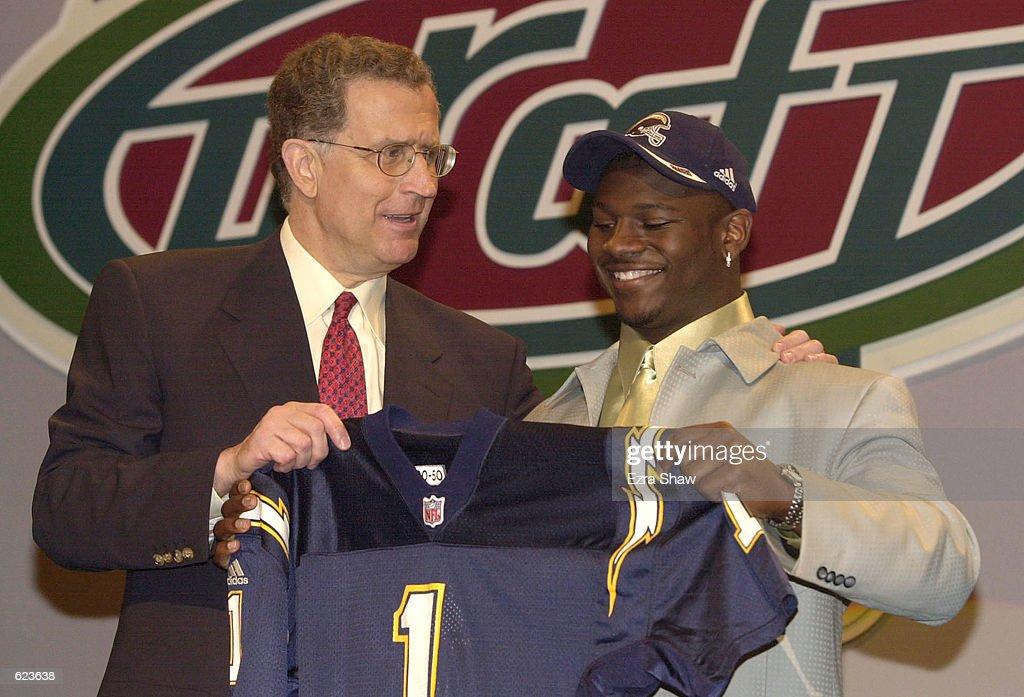 NFL Draft X Tomlinson : News Photo