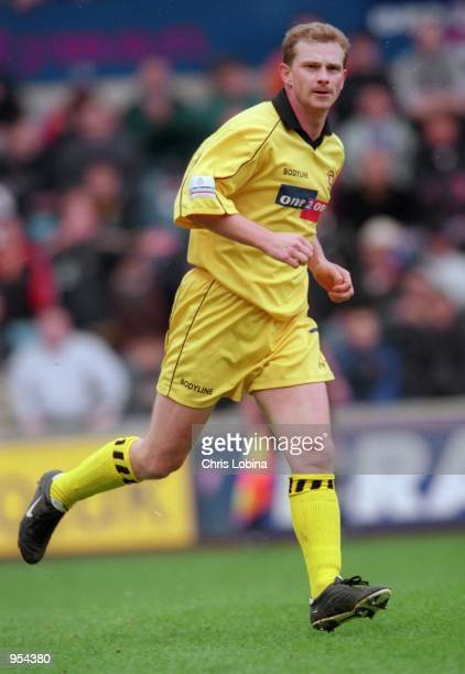 Mark Robins of Rotherham United in action during the Nationwide League Division Two match against Millwall played at The New Den in London Millwall...