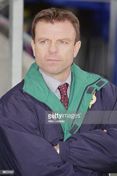 Portrait of Bulgaria coach Stoycho Mladenov before the International Friendly match against Norway played at the Ullevaal Stadium in Oslo Norway...