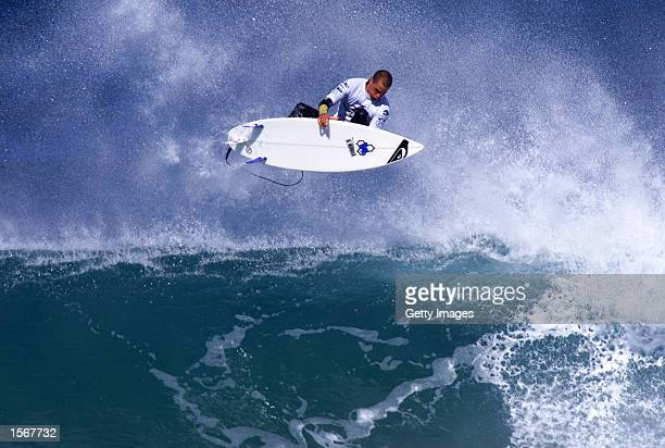 Rip Curl Pro Bells Beach Victoria Australia April Six times Association of Surfing Professionals world champion Kelly Slater was beaten in a tense...