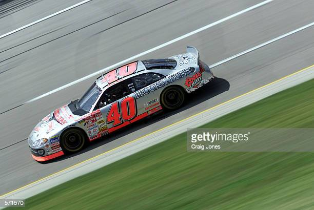 Sterling Marlin driving the Ganassi Racing Dodge Intrepid during the NASCAR Winston Cup Talladega 500 at the Talladega Super Speedway in Talladega...