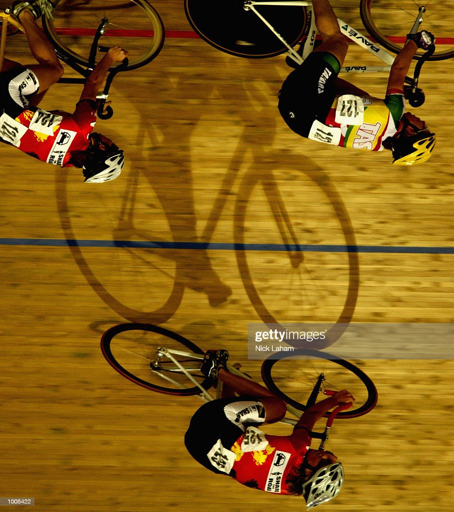 A general view during the Womens U19 10k Race during the National Track Championships held at the Dunc Gray Velodrome, Sydney, Australia. Mandatory Credit: Nick Laham/Getty Images