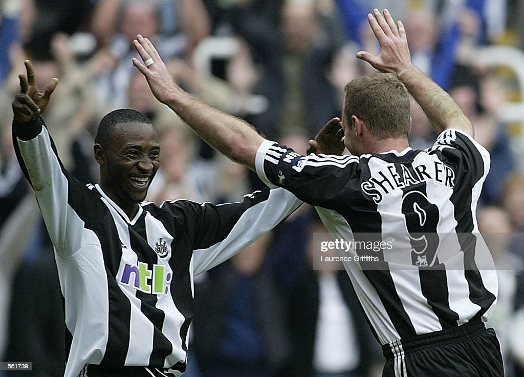 Newcastle v Charlton X Shearer : News Photo
