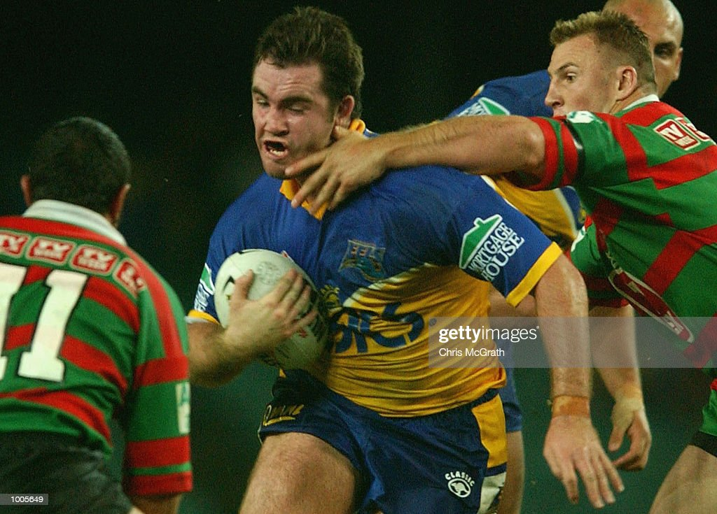 Daniel Heckenberg #20 of the Eels in action during the Round 6 NRL match between the South Sydney Rabbitohs and the Parramatta Eels held at Aussie Stadium, Sydney, Australia. DIGITAL IMAGE. Mandatory Credit: Chris McGrath/Getty Images