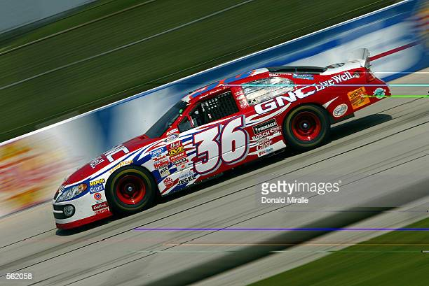 Hank Parker Jr drives the Dodge GNC during the Aaron's 390 part of the Busch Nascar Series at Talledega Superspeedway in Talladega Alabama DIGITAL...